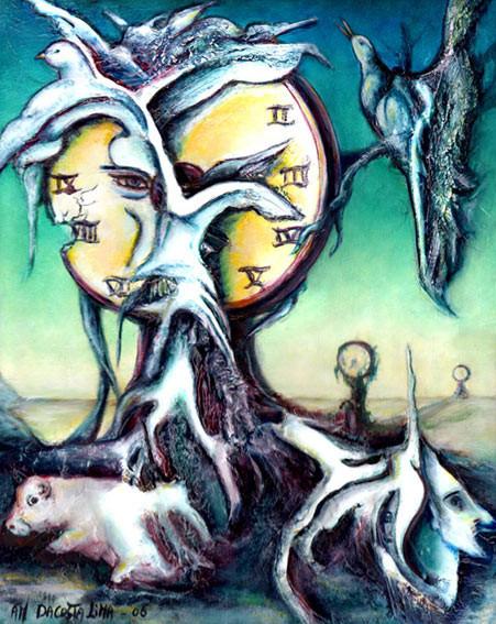 Symbolisme Surréalisme Visionnaire Da Costa Lima Artiste Peintre