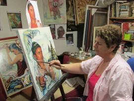 Da costa lima artiste peintre Nice atelier